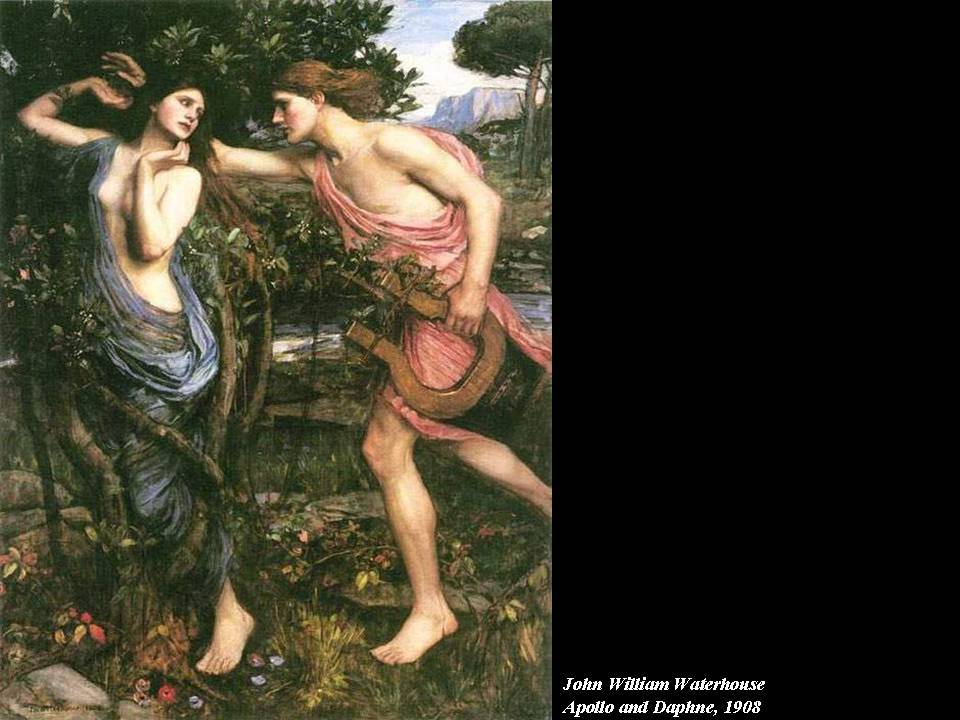 ovids phoebus and daphne compared to shakespeares Daphne, daughter of peneus, was apollo's first love, which not blind chance, but cupid's savage anger, gave apollo, arrogant at the serpent having been conquered.