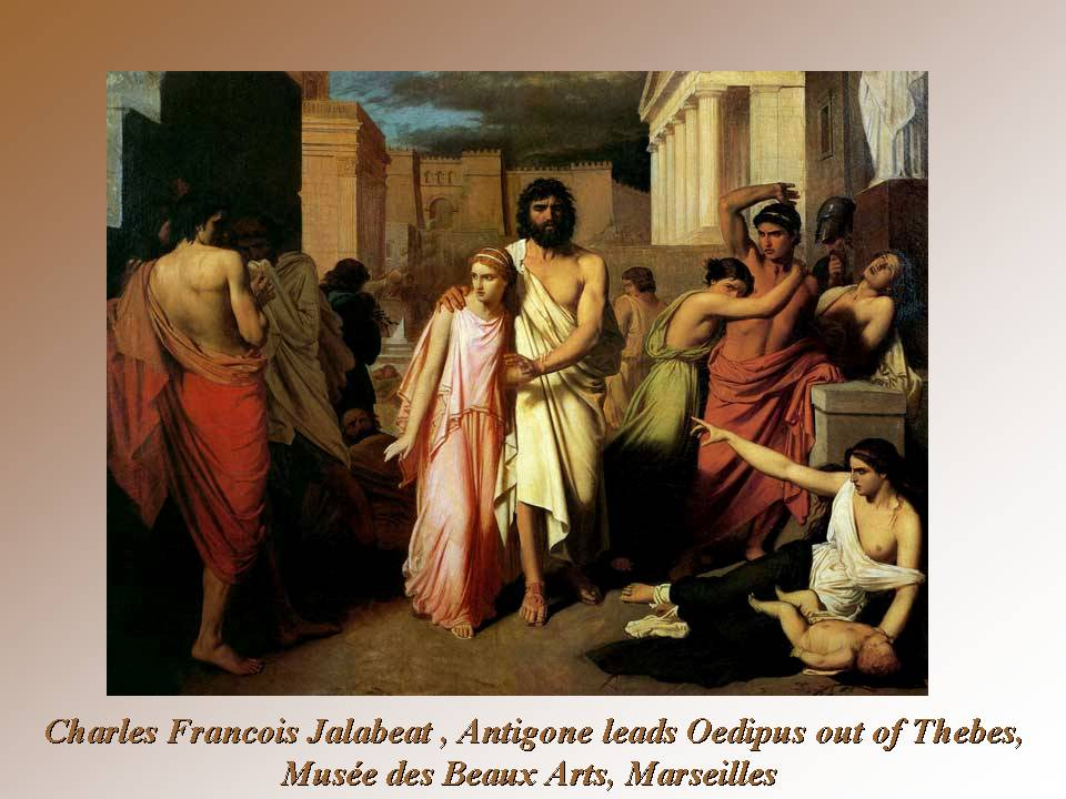 oedipus king of thebes hated and Free essay: in sophocles' play, oedipus, the king, there are various instances where oedipus tries to escape his destiny—enlightenment—only to discover the.